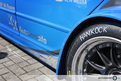 BMW E46 WTC mit Hankook Reifen