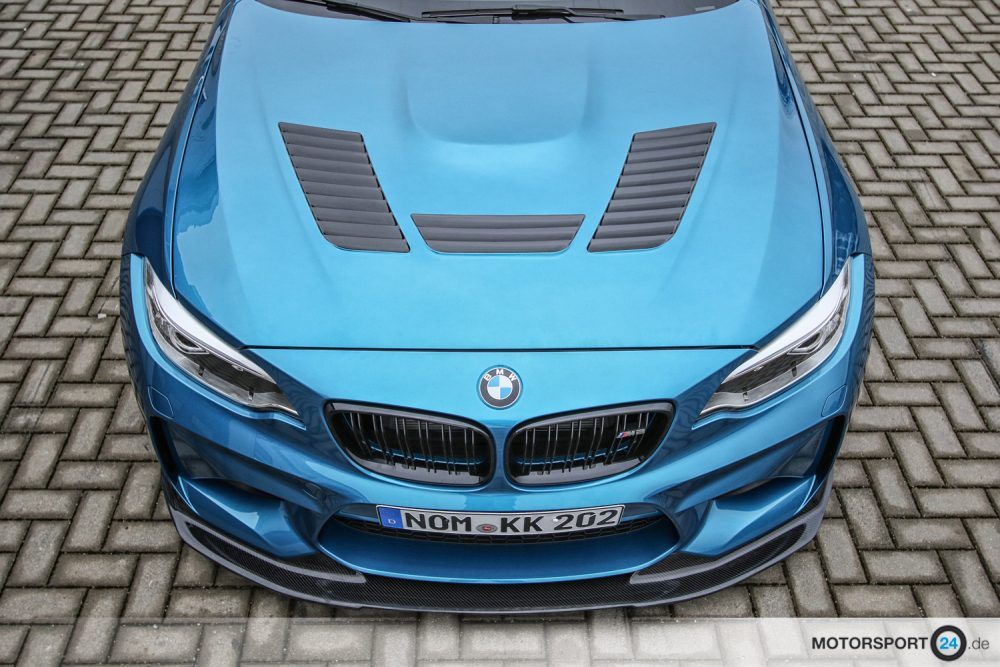 BMW M2 F87 / M235i F22 Motorhaube GTR Carbon