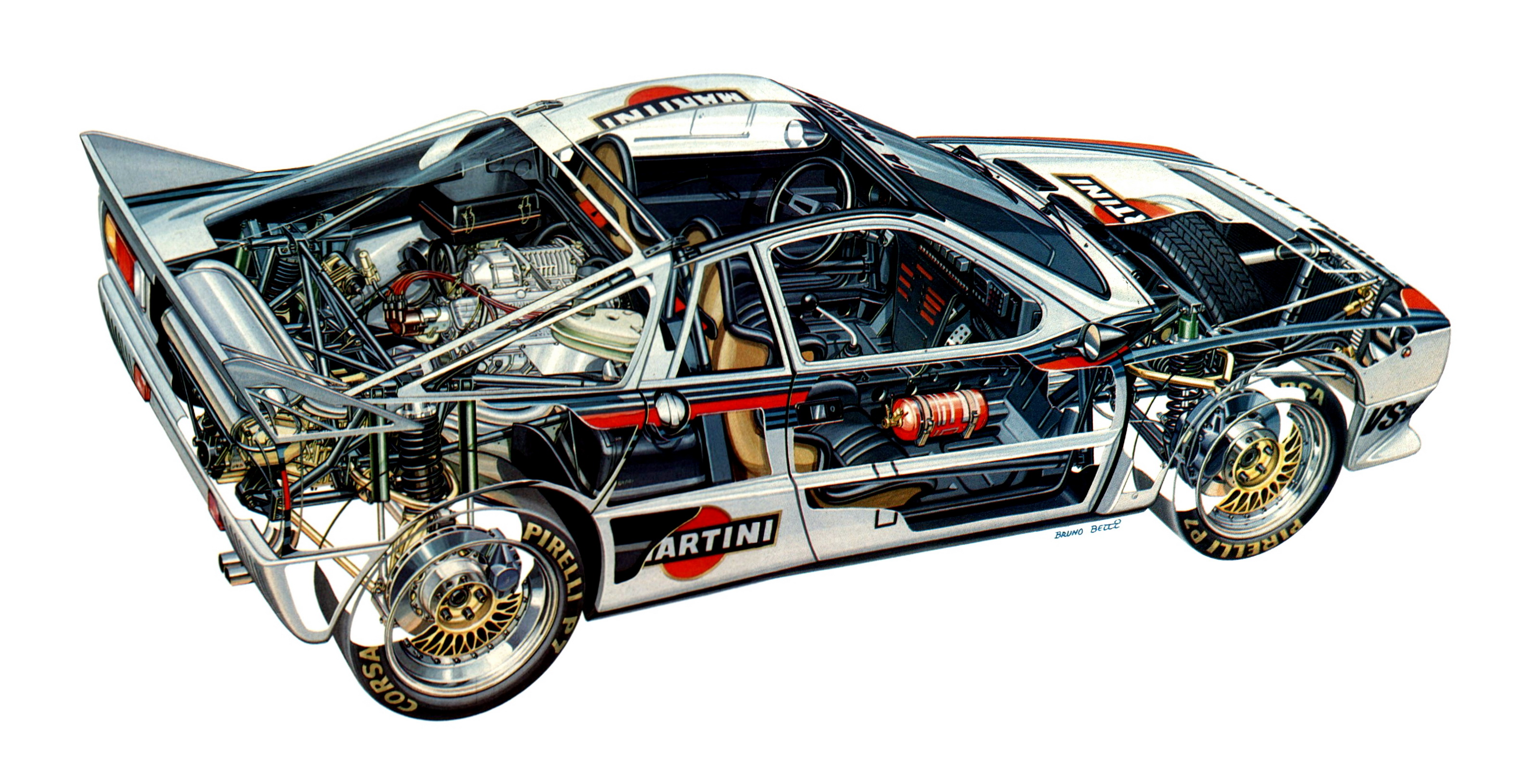 Free Wallpaper For Galaxy S4 Cars Dodge Under The Skin Lancia Cutaways Motorsport Retro