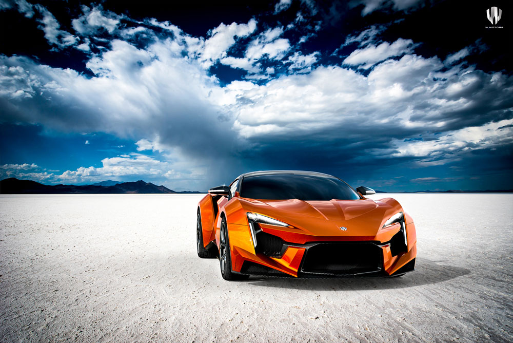 Super Fast Car Wallpaper W Motors Fenyr Supersport เปิดตัวที่ Monterey