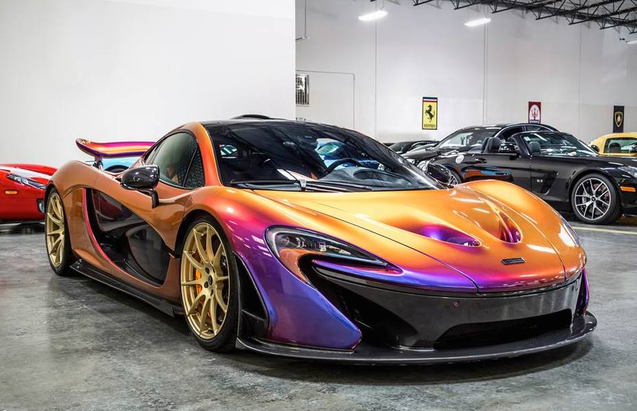Cj So Cool Car Wallpapers Up Close With The Cerberus Pearl Mclaren P1