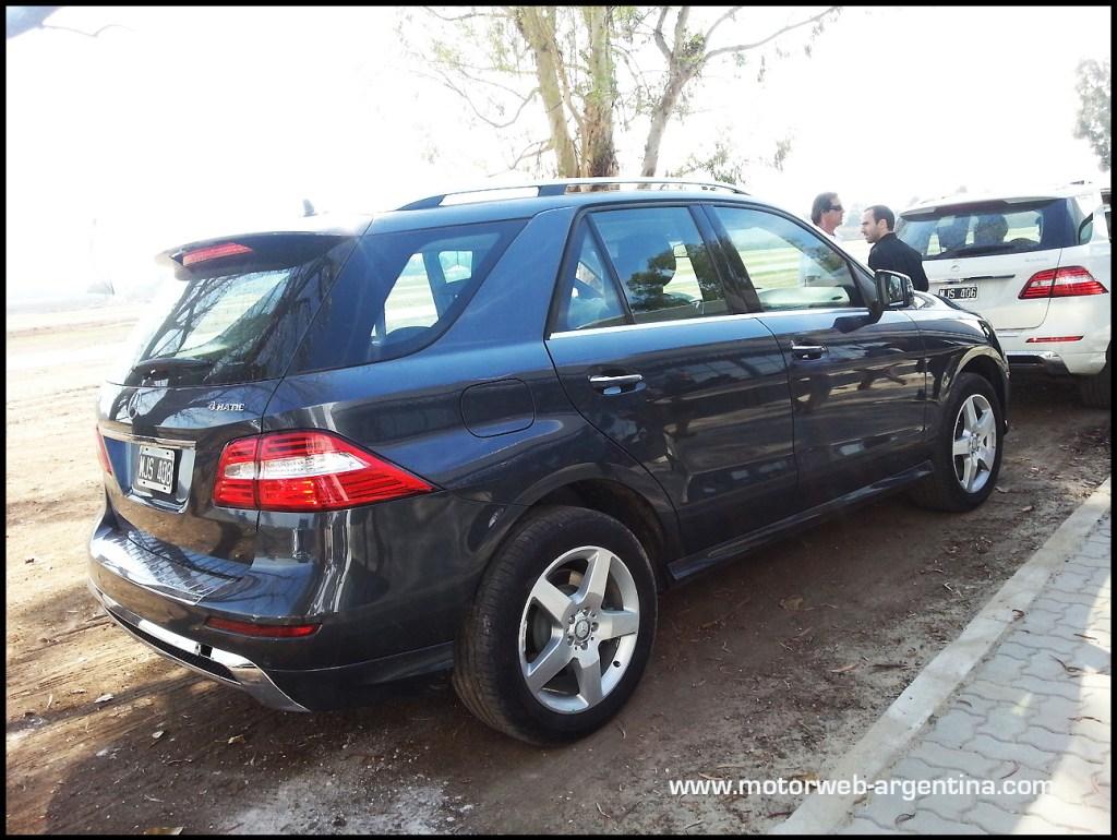 Mercedes benz lanza el clase ml versi n especial edition for Mercedes benz argentina