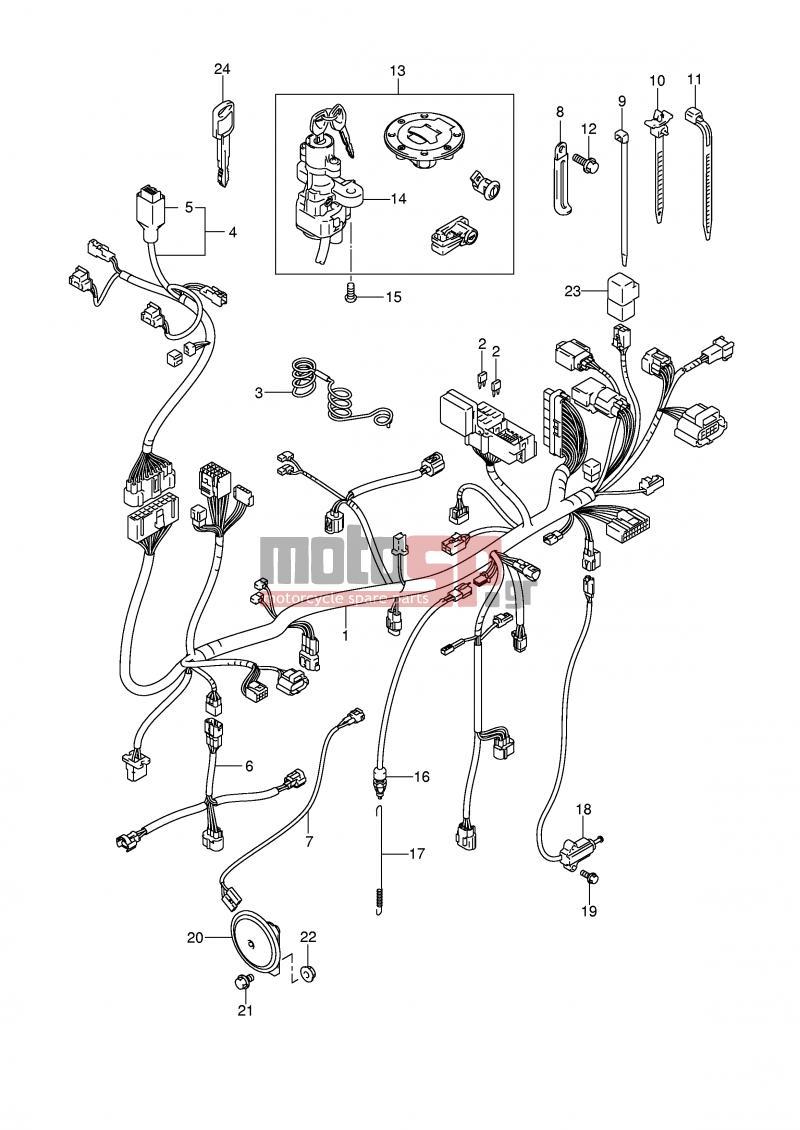e2 wiring harness