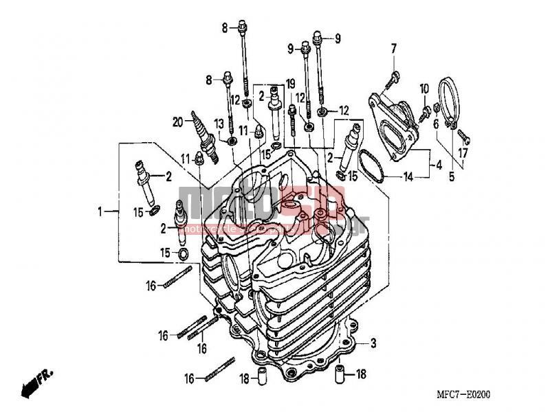 Diagrama Honda Fmx650 electrical wiring diagrams