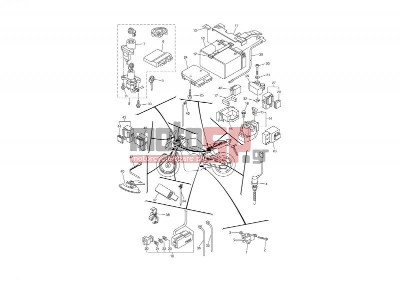 motoSP - YAMAHA - FZ1-S 1000 (GRC) 2007 - Electrical - ELECTRICAL 2