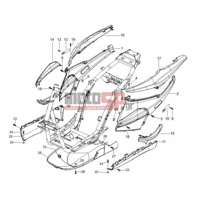 scooters piaggio fly 150 wiring diagram schematic