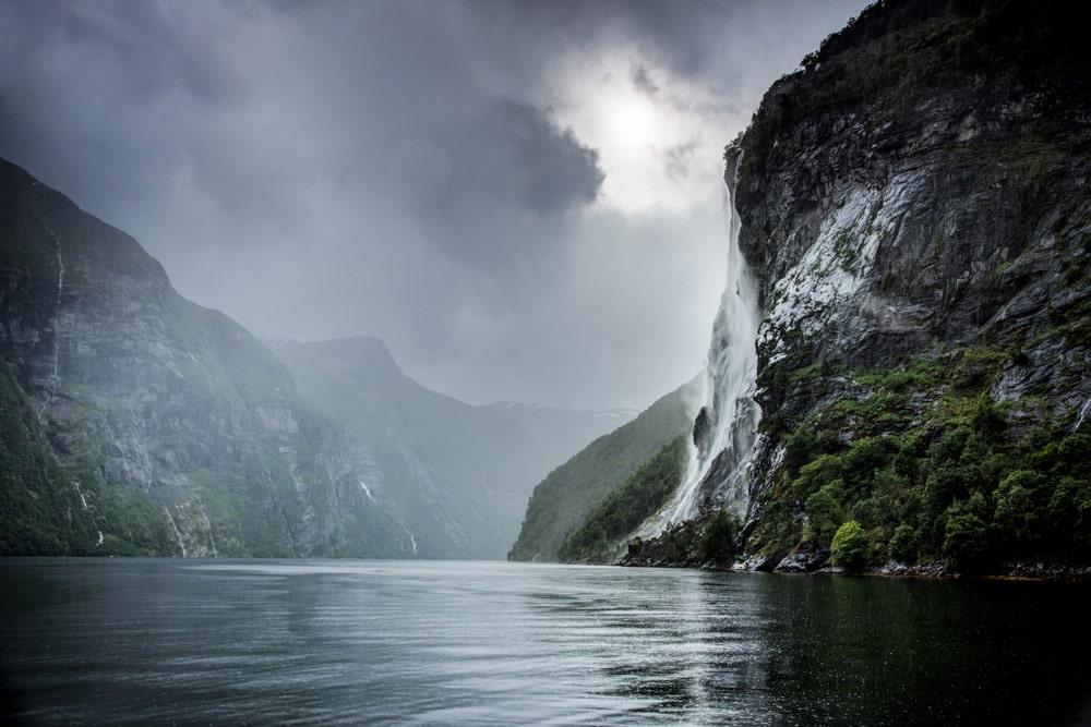 Mountain bike tour Norway, fjords adventure H+I Adventures - fjord