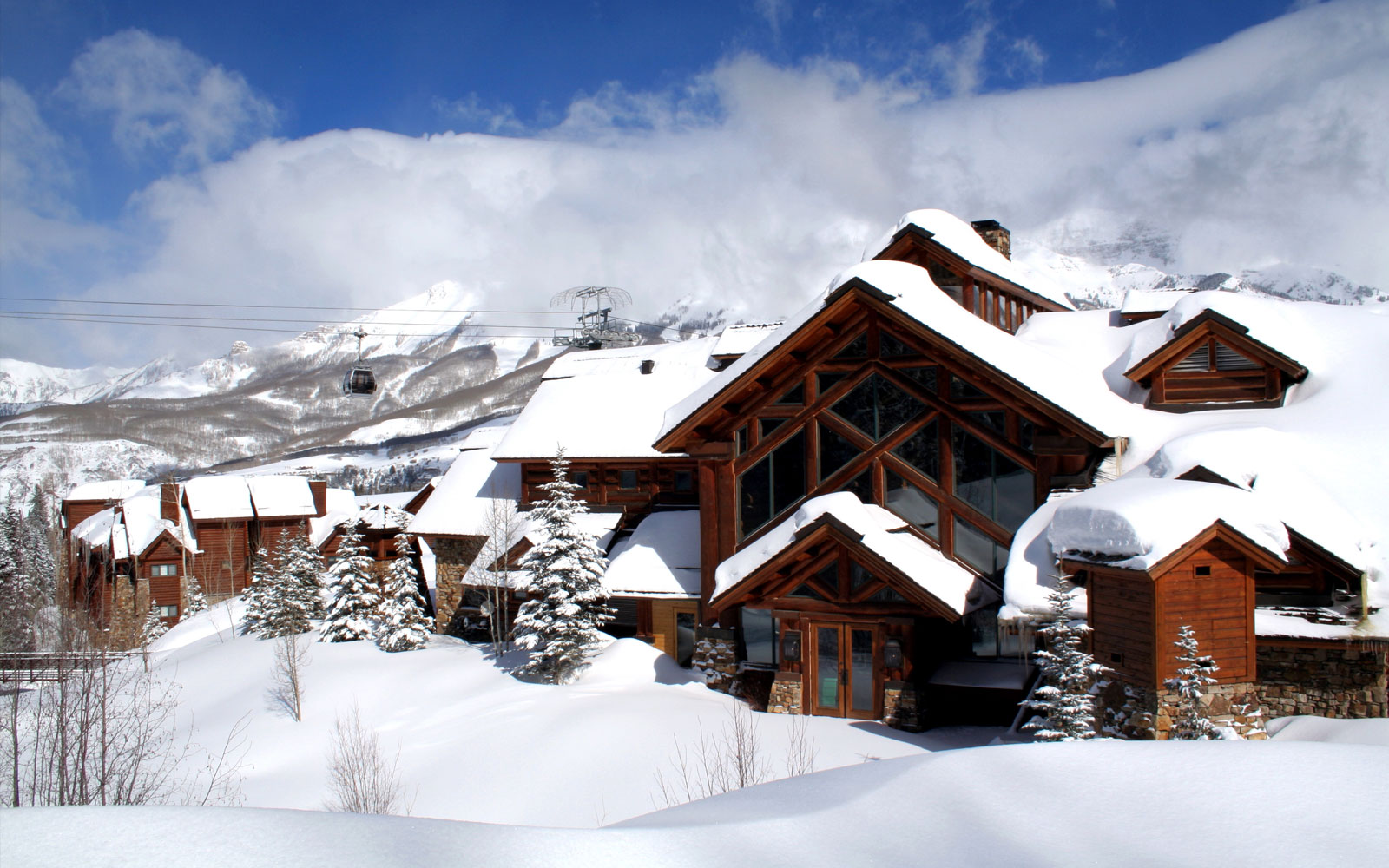 Majestic Fall Wallpaper Upscale Telluride Co Hotel Reservations Mountain Lodge