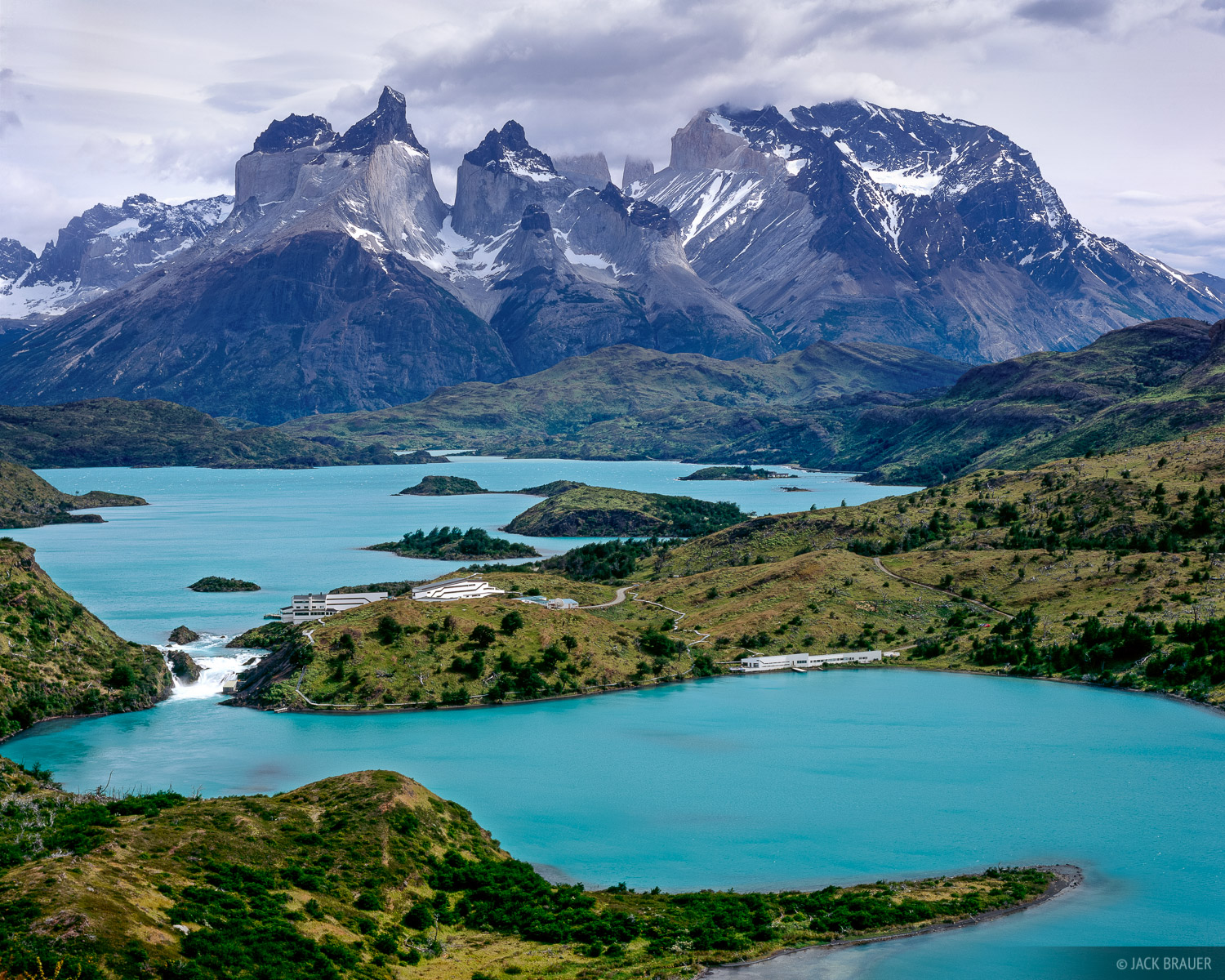 Glass Wallpaper Hd Lago Pehoe Torres Del Paine Chile Mountain
