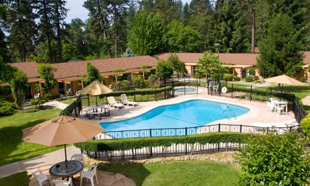 Road trips mountain valley living for Ponderosa gardens motel paradise ca