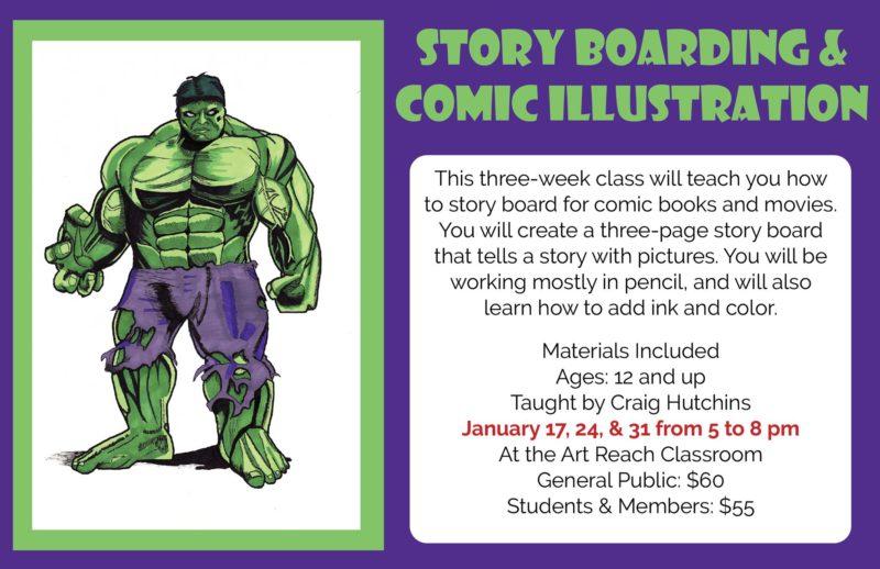 Comic Book  Storyboard Class