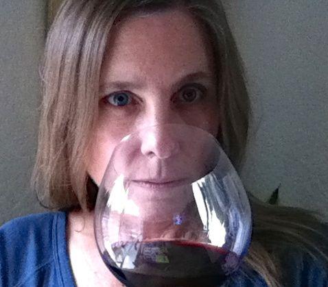 mari red wine cup