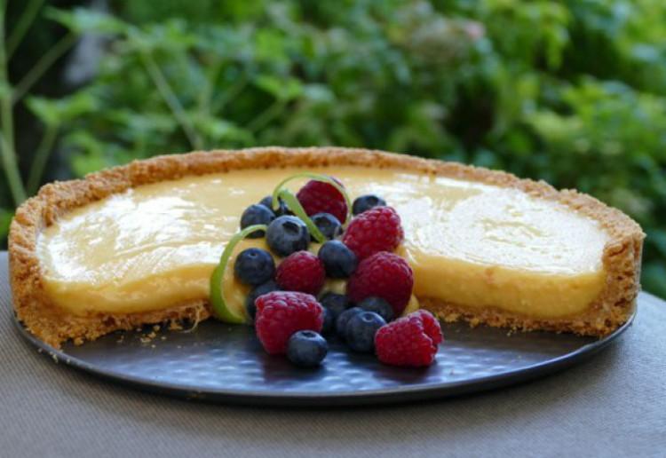 Mango Curd Tart Real Recipes From Mums