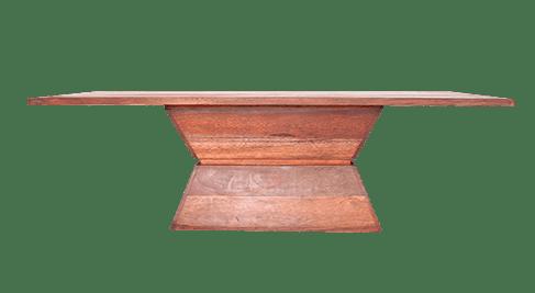 Mesa-de-jantar-com-base-cone