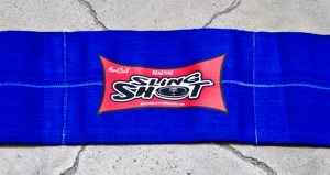 Sling Shot is a upper body supportive device created by Mark Bell.