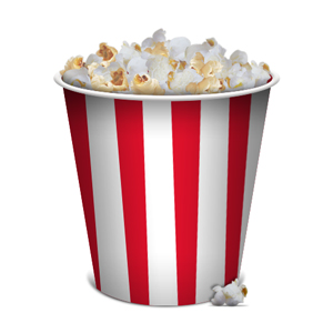 Unsalted Popcorn