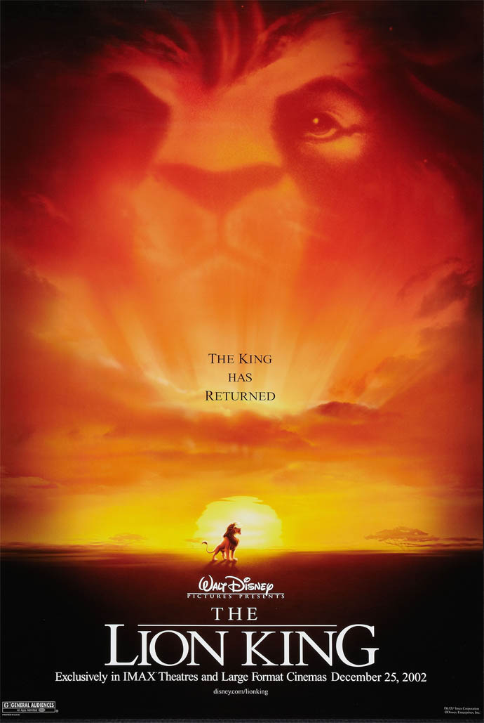 the lion king movie poster artist mike