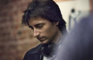 Director Noah Baumbach on the set of MISTRESS AMERICA.
