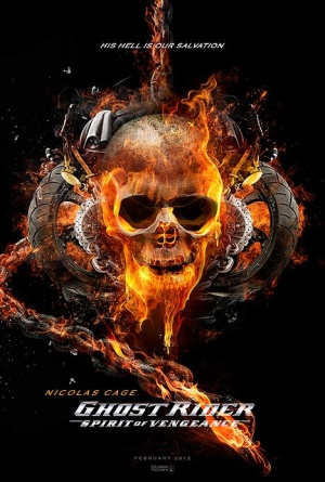 Download Filem Ghost Rider 2 Spirit Of Vengeance 2011 Ts 2 US poster for Ghost Rider Spirit of Vengeance x