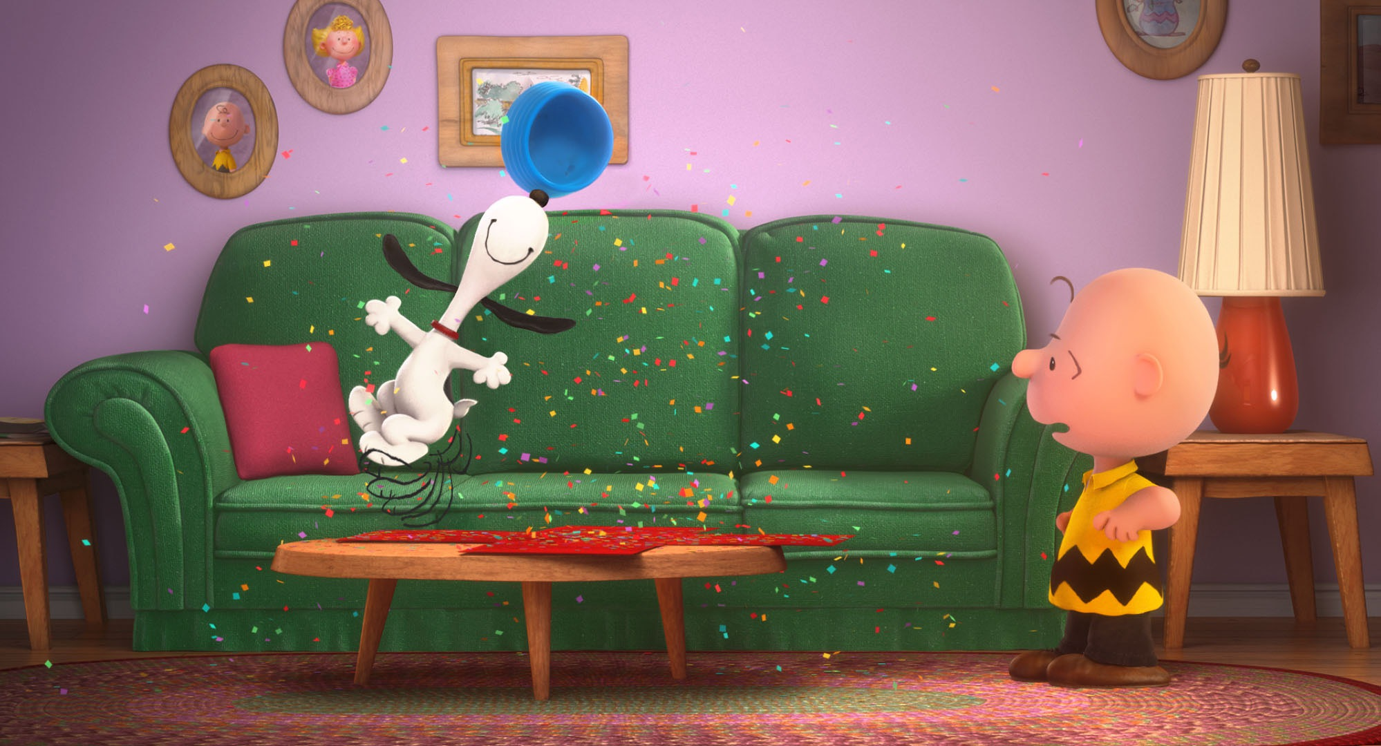 Animated Christmas Desktop Wallpaper Snoopy And Charlie Brown The Peanuts Movie Review