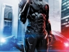 Robocop Release Date : 7 February 2014 In a crime-ridden city, a fatally wounded cop returns to the force as a powerful cyborg with submerged memories haunting him