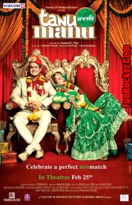 Tanu Weds Manu Movie Poster and Trailer 2011