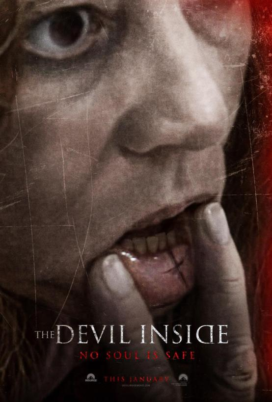 The Devil Inside Movie Poster And Trailer 2012