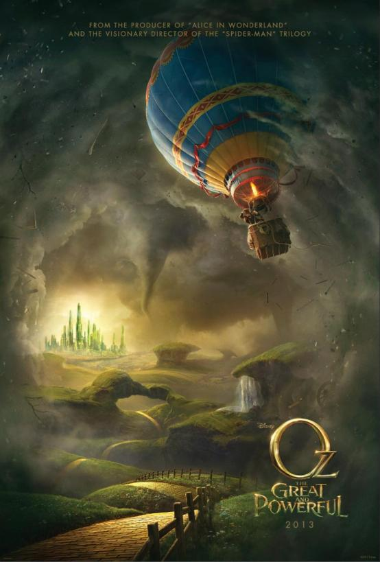 Oz The Great and Powerful Movie Poster 2013