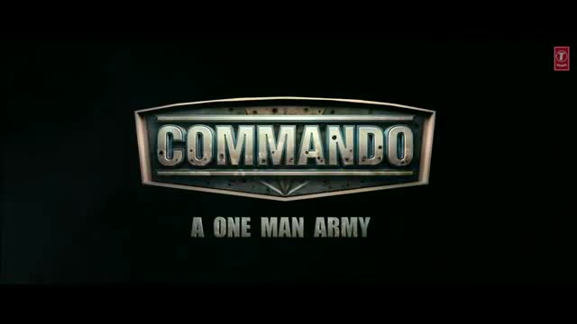 Commando Movie Poster 2013