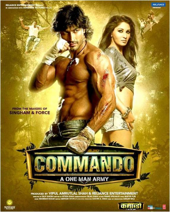 Commando Movie New Poster