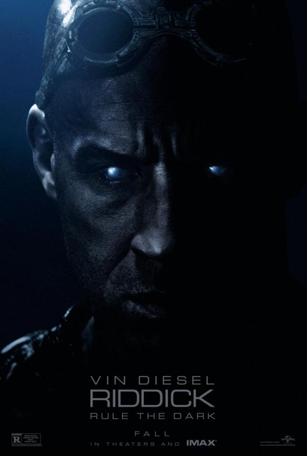 Riddick Movie Poster 2013