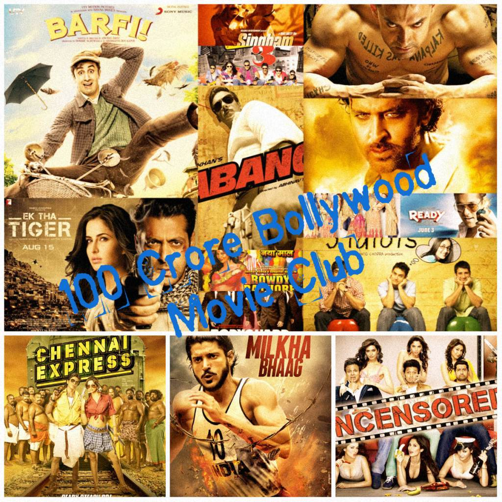 100 Crore Bollywood Movie Club