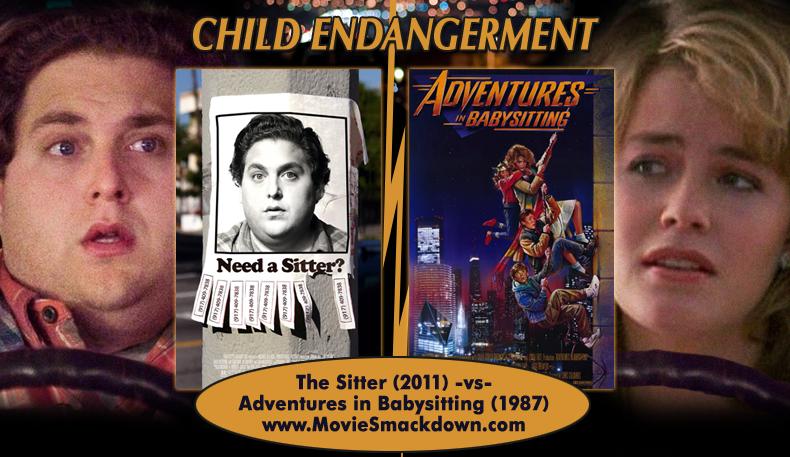 The Sitter (2011) -vs- Adventures in Babysitting (1987) - Movie