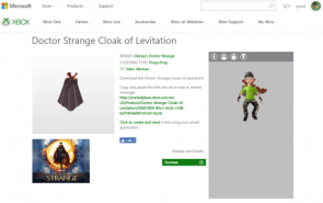 Doctor Strange Cloak of Levitation