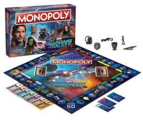 Guardians of the Galaxy Volume 2 Monopoly Game