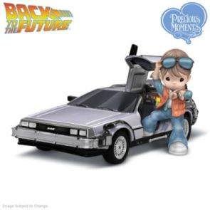 Precious Moments Back To The Future Marty McFly Figurine