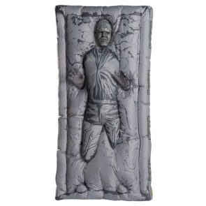 This Inflatable Han Solo in Carbonite Costume Is Hilarious