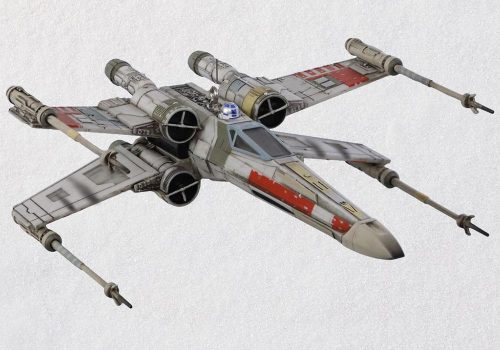 XWing Starfighter Ornament With Light and Sound