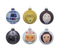 Spruce up Your Spruce with Some Star Wars Xmas Ornaments