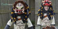 This Kid Wearing a HandCrocheted Predator Costume Will Win Halloween This Year