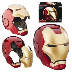 Marvel Legends Iron Man Electronic Helmet  Entertainment Earth