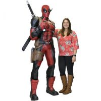 Deadpool LifeSize Foam Replica Statue