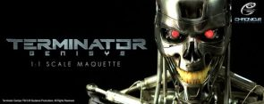 Terminator: Genisys Life Size T-800 Endoskeleton Version 2 by Chronicle – The Toyark – News