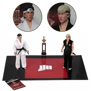 Karate Kid 1984 All-Valley Karate Championships Tournament Cloth 8-Inch Action Figure 2-Pack – Entertainment Earth