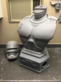 Updated WIP Look at the Life Size Robocop Bust by Chronicle Collectibles