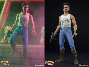 There's Big Trouble in Little China with Sideshow's Jack Burton Collectible Figure