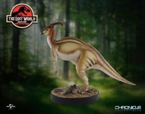 Parasaurolophus Statue from The Lost World: Jurassic Park by Chronicle – The Toyark – News
