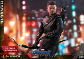 Check out Hot Toys' Avengers: Endgame Hawkeye Deluxe Action Figure
