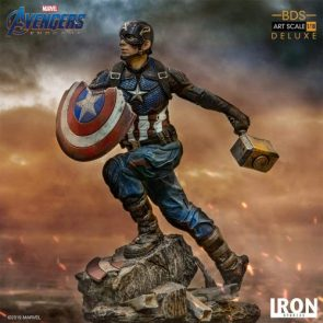 Avengers: Endgame – Captain America Battle Diorama Statue by Iron Studios – The Toyark – News