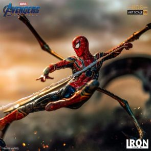 Avengers: Endgame – Iron Spider and Outrider Statues by Iron Studios – The Toyark – News
